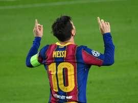 L'avis de Maradona sur l'affaire Messi. afp