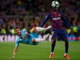 Rivaldo pense que c'est le bon moment de vendre Dembélé. AFP
