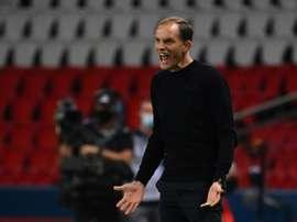PSG vence, mas Tuchel sai na bronca. AFP