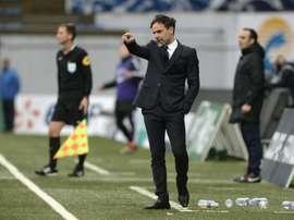 Marco Simone podría dirigir al Auxerre. AFP