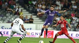 Rennes reçoit Toulouse. AFP