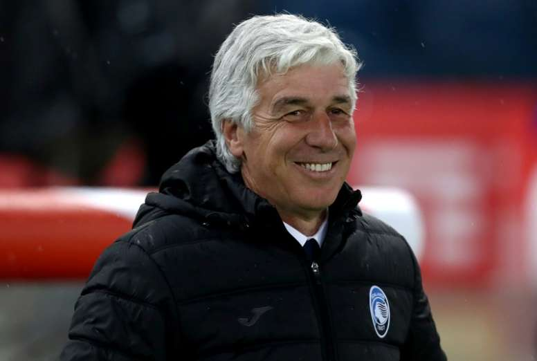 Gasperini explained the reason for his good relationship with Guardiola. AFP