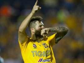 Gignac lideró a Tigres. AFP