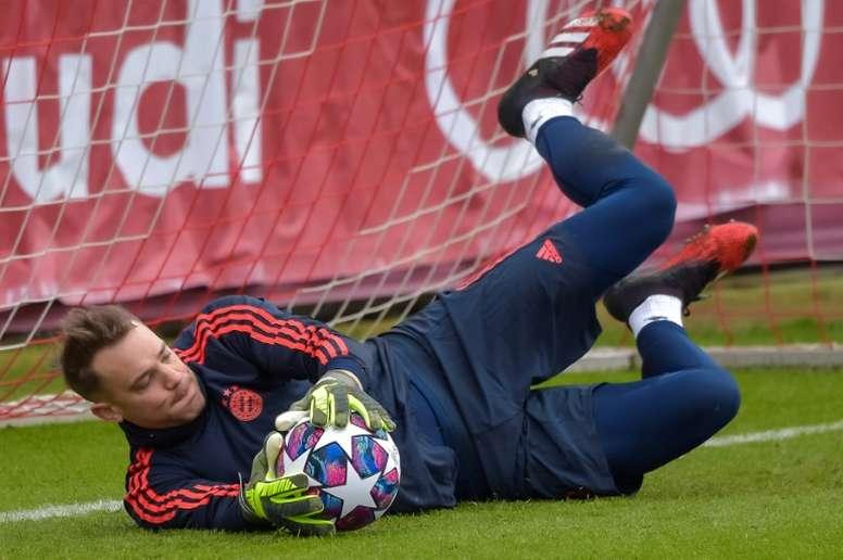 Salihamidzic optimiste pour une prolongation de Neuer au Bayern Munich. AFP