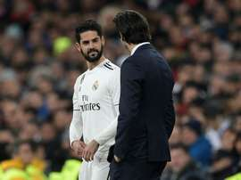 Isco has been punished by Real Madrid. AFP