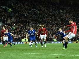 Zlatan à la rescousse de Man U. AFP
