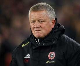 Le coach de Sheffield United ne forcera pas ses joueurs à jouer. AFP
