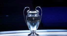 Champions League quarter final draw. AFP