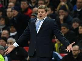 Vanhazebrouck deixou o KAA Gent em setembro. AFP