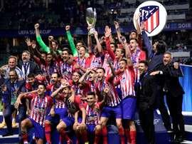 O Atlético bateu o Real Madrid por 4-2. AFP