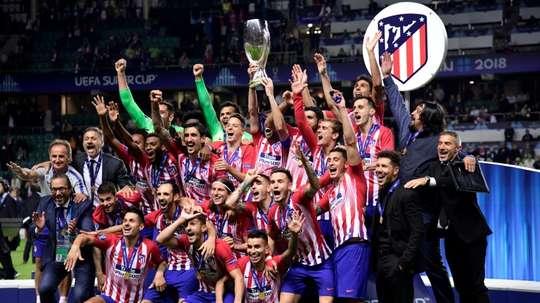 L'Atlético, 'Superchampion d'Europe' 2018. AFP