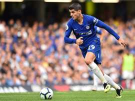 Morata has struggled for form in front of goal so far this season. AFP