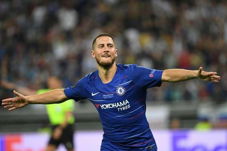 Le Real Madrid prépare 120 millions d-euros pour Hazard. AFP