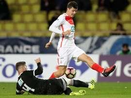 Carrillo, sur le point de rejoindre Southampton. AFP