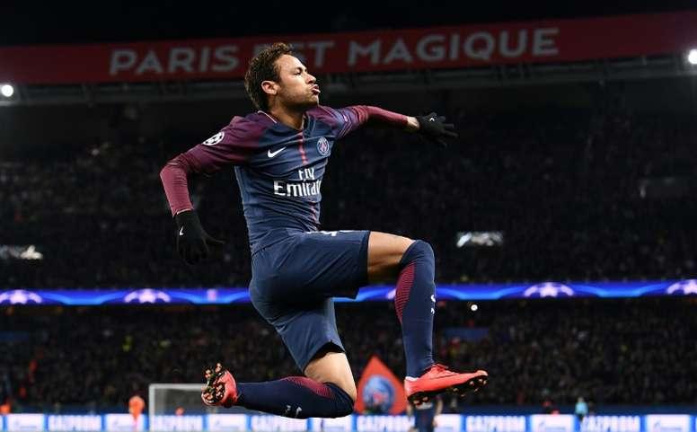 An improved Neymar returns to Madrid. AFP