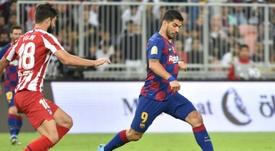 Lo que ha llevado a Suárez al Atlético. AFP