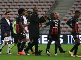 Les compos probables du match de Ligue 1 entre Nice et Dijon. afp