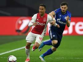 Justin Kluivert has impressed on the wing for Ajax this season. AFP