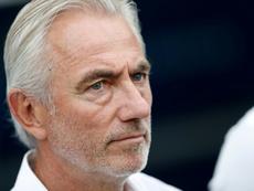 Le Néerlandais Bert van Marwijk. AFP