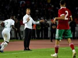 Les compos probables du match de la CAN entre le Maroc et la Namibie. AFP
