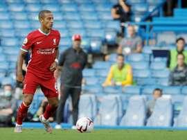 Thiago Alcântara tem bom estado de saúde, apenas com sintomas mínimos de Covid-19. AFP