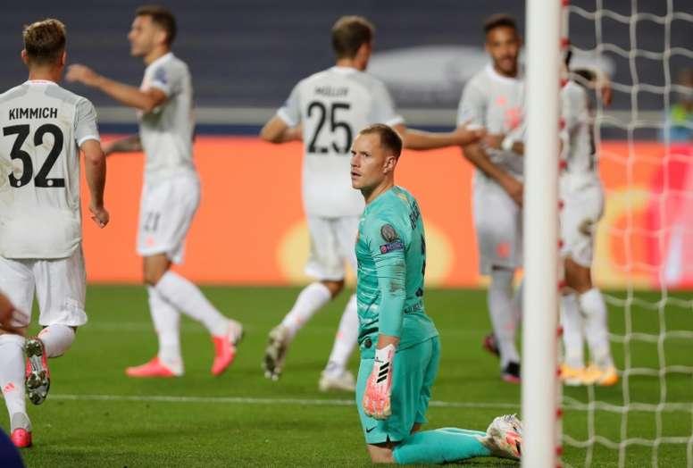 El Bayern machacó a un Barça avergonzante. AFP