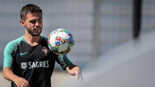 Bernardo silva já está no olimpo do futebol. AFP