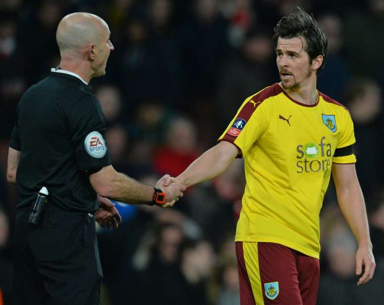 Barton will step into the technical dugout in June. AFP
