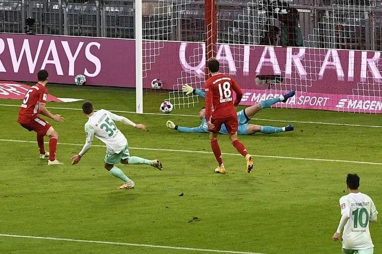Le Bayern tenu en échec, Leipzig peut recoller. AFP