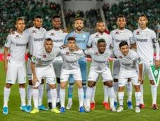 Le Maroc, premier grand championnat africain à reprendre. AFP