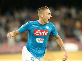 Le Croate pourrait quitter Naples la saison prochaine. AFP
