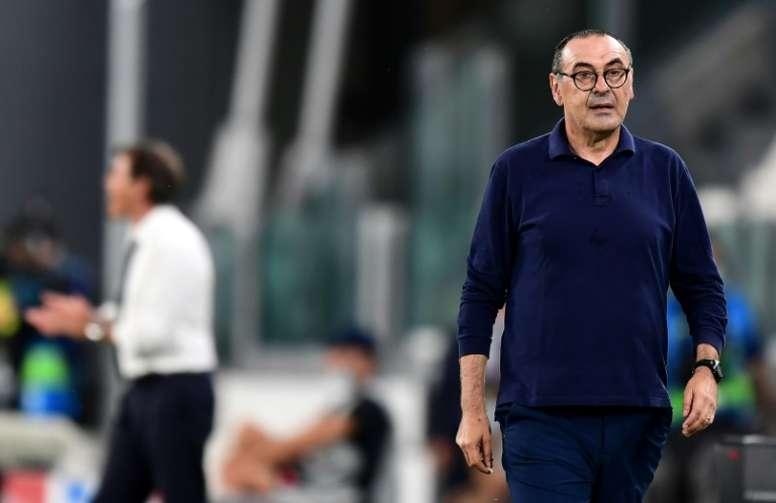 Maurizio Sarri n'est plus l'entraîneur de la Juventus. AFP