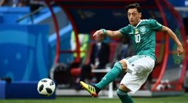Germany's mesut Ozil retired from international football after the World Cup. AFP