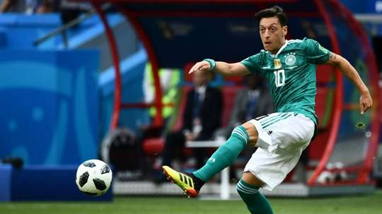 Mesut Ozil retired from international football in July. AFP