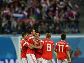 Rússia novamente acusada de doping. AFP