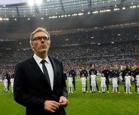 Laurent Blanc, l'exil pour revenir dans le jeu. AFP