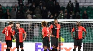 Les compos probables du match de Ligue Europa entre Rennes et la Lazio. AFP