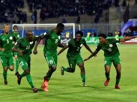 Nigeria empató a uno contra el Congo. AFP/Archivo