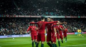 UEFA quer aumentar de dois para três os jogos disputados em cada data FIFA. AFP