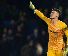 Kepa può lasciare il Chelsea. AFP