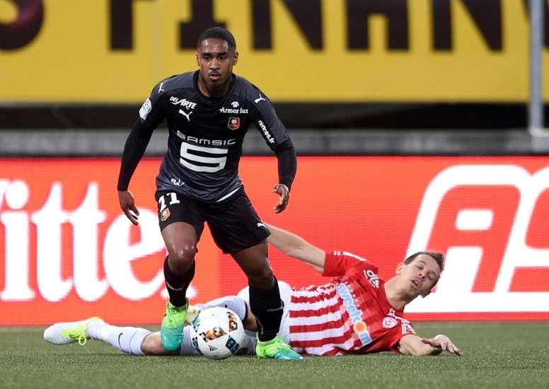Said ne devrait pas jouer contre Rennes. AFP