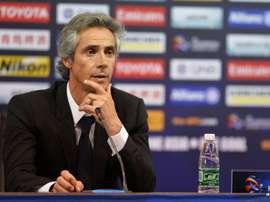 Paulo Sousa deja el Tianjin Quanjian. AFP