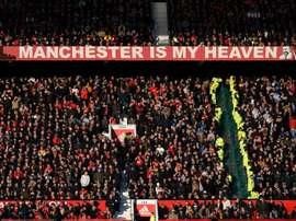 Escalações oficiais de Manchester United e Watford. AFP