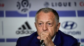 Aulas hits out at Ligue 1. AFP