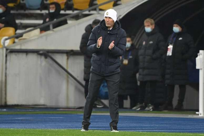 La Juventus veut Zidane. afp