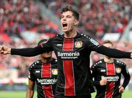 PSG poderá ser concorrente do Barcelona por Havertz. AFP