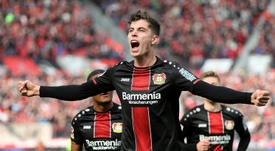 Real Madrid have not given up on signing Kai Havertz. AFP