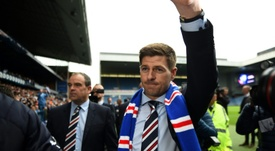 Steven Gerrard demands European success from his team. AFP
