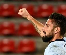 Olivier Giroud está na mira do Inter Miami. AFP