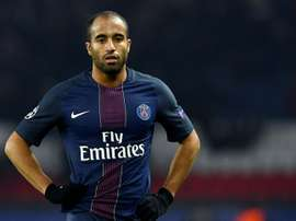 Lucas Moura deixou o PSG e rumou a Inglaterra. AFP